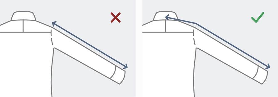 how to measure sleeve length easily
